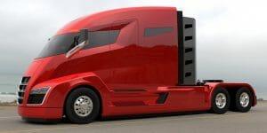electric semi truck