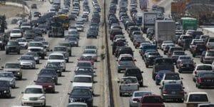 thanksgiving traffic congestion
