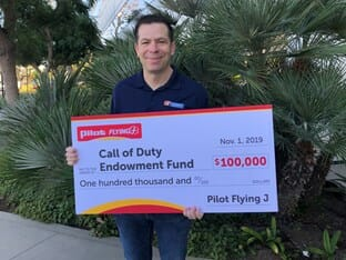 Call of Duty Endowment Pilot FLying J