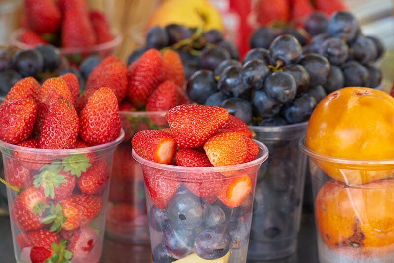 Fresh Fruit Healthy for Truck Drivers