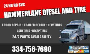 hammerlane diesel and tire