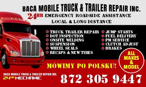 baca truck and trailer repair inc