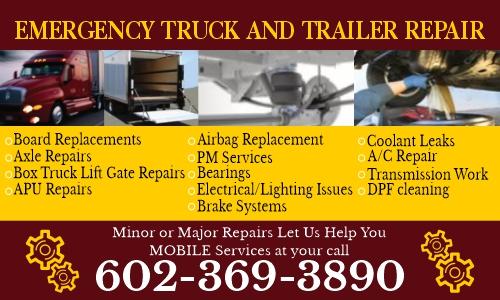 Emergency Truck and Trailer Repair