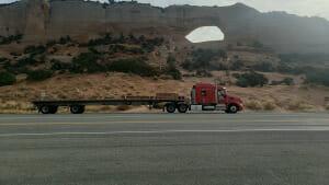 Semi Truck Rolling 34-Hour Restart